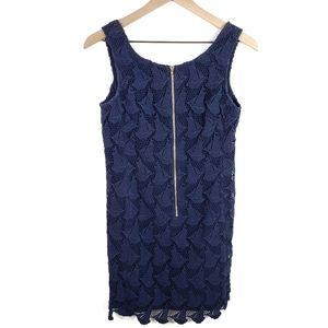 Lilly Pulitzer Kolby True Navy Boaty Lace Dress